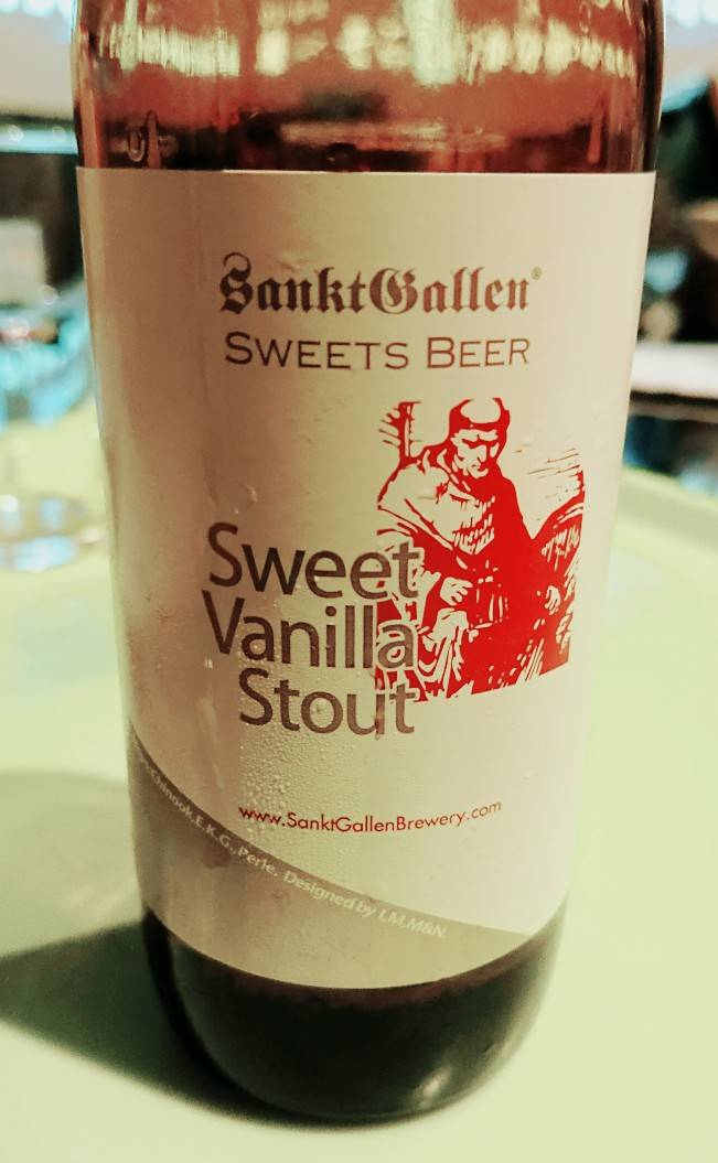 Sweet vanilla stout